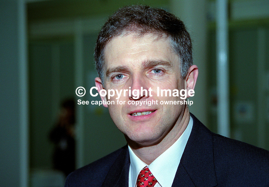 David Stanton, TD, Fine Gael, Rep of Ireland, 199902005..Copyright Image from Victor Patterson, 54 Dorchester Park, Belfast, UK, BT9 6RJ..Tel: +44 28 9066 1296.Mob: +44 7802 353836.Voicemail +44 20 8816 7153.Skype: victorpattersonbelfast.Email: victorpatterson@mac.com.Email: victorpatterson@ireland.com (back-up)..IMPORTANT: If you wish to use this image or any other of my images please go to www.victorpatterson.com and click on the Terms & Conditions. Then contact me by email or phone with the reference number(s) of the image(s) concerned.