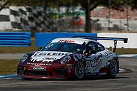2017 Porsche GT3 Cup USA<br /> Sebring International Raceway, Sebring, FL USA<br /> Friday 17 March 2017<br /> 00, Corey Fergus, GT3P, USA, 2017 Porsche 991<br /> World Copyright: Jake Galstad/LAT Images<br /> ref: Digital Image lat-galstad-SIR-0317-14852