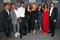 BEVERLY HILLS, CA - AUGUST 4: Scott Wolf, Riley Smith, Tunji Kasim, Maddison Jaizani, Kennedy McMann, Leah Lewis, Alvina August, Alex Saxon, at The CW's Summer TCA All-Star Party at The Beverly Hilton Hotel in Beverly Hills, California on August 4, 2019. <br /> CAP/MPI/FS<br /> ©FS/MPI/Capital Pictures