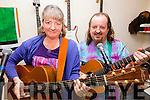 The Scattergoods in Concert in aid of Community Care this Saturday in the the Community Hall in Dungeagan, Ballinskelligs at 8pm tickets €10 on the door pictured here l-r; Liz & Andrew 'Skatz' Scattergood.