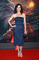 NEW YORK, NY - JULY 10: Carla Gugino at the New York Premiere of Skyscraper at AMC Loews Lincoln Square in New York City on July 10, 2018. <br /> CAP/MPI99<br /> &copy;MPI99/Capital Pictures