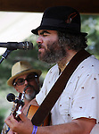 Chris Merenda and The Wheel performing in the Hoot Hill stage, on the 2nd day of the 4th Annual Summer Hoot Festival held at the Ashokan Center, Olivebridge, NY, on Saturday, August 27, 2016. Photo by Jim Peppler; Copyright Jim Peppler 2016.