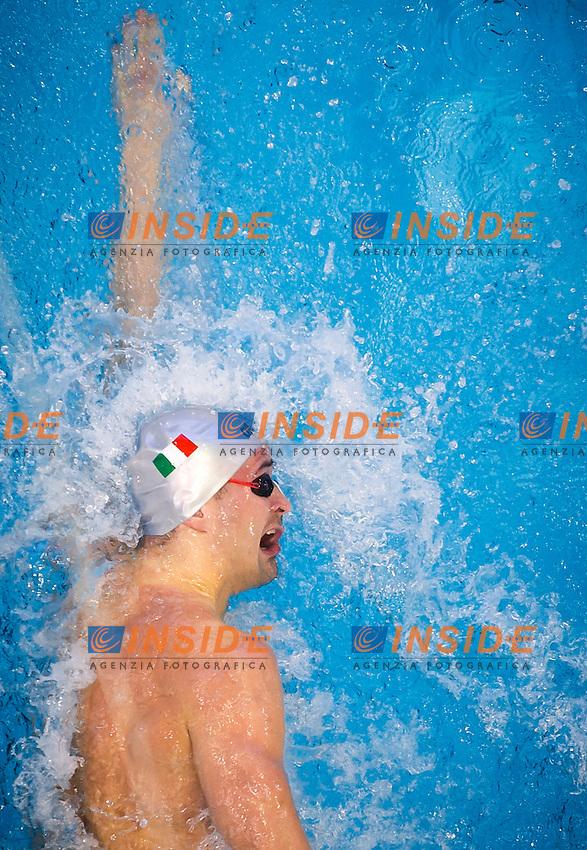 ORSI Marco ITA<br />Men's 50m freestyle heats<br />Netanya, Israel, Wingate Institute<br />LEN European Short Course Swimming Championships <br />Dec. 2 - 6, 2015 Day 04 Dec.05<br />Nuoto Campionati Europei di nuoto in vasca corta<br />Photo Giorgio Perottino/Deepbluemedia/Insidefoto