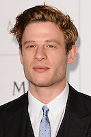 James Norton arriving for the British Independent Film Awards 2014 at Old Billingsgate, London. 07/12/2014 Picture by: Steve Vas / Featureflash