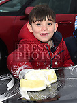 Aaron O'Sullivan who took part in the St Colmcilles car wash. Photo:Colin Bell/pressphotos.ie