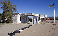 The Camel Stop Auto Repair shop located in the small desert town of Quartzsite, Arizona.