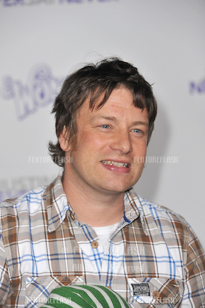 """Jamie Oliver at the Los Angeles premiere of """"Justin Bieber: Never Say Never"""" at the Nokia Theatre LA Live..February 8, 2011  Los Angeles, CA.Picture: Paul Smith / Featureflash"""