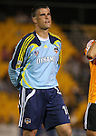 31 March 2007: Houston's Pat Onstad. Major League Soccer's Houston Dynamo defeated the New York Red Bulls 2-1 in a preseason game at Blackbaud Stadium on Daniel Island in Charleston, SC, as part of the Carolina Challenge Cup.