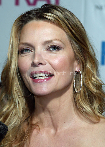 "Michelle Pfeiffer arriving for the New York Premiere Screening of ""HAIRSPRAY"" at the Ziegfeld Theater. July 16, 2007 © Joseph Marzullo / MediaPunch"