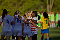 Portland, OR - Tuesday, July 3, 2018: Brazil Women's U20 vs USWNT U20 at Nike World Headquarters.