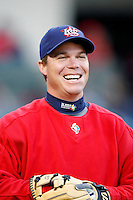 Chipper Jones of the USA during the World Baseball Championships at Angel Stadium in Anaheim,California on March 13, 2006. Photo by Larry Goren/Four Seam Images