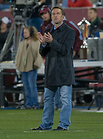 Salt Lake head coach Jason Kreis. Real Salt Lake earned a tied versus the Colorado Rapids securing a place in the postseason. Dick's Sporting Goods Park, Denver, Colorado, October, 25, 2008. Photo by Trent Davol/isiphotos.com