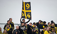 02 May 2009: Columbus Crew fans made the trip to Toronto to support their team at BMO Field in a game between the Columbus Crew and Toronto FC. .The game ended in a 1-1 draw...