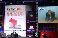 """SAO PAULO, SP, 30.09.2013 - EXAME FORUM  - Marina Silva uma das confirmadas no evento não compareceu, mas deixou uma gravacao aos participantes do Exame Fórum 2013, promovido pela revista Exame, que teve como tema central """"Como Aumentar Nossa Produtividade"""", no Sheraton WTC Hotel, em São Paulo, nesta segunda-feira, 30. (Foto: Vanessa Carvalho / Brazil Photo Press)."""