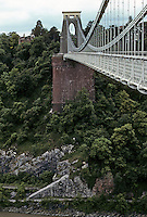 Technology: Bristol--Clifton Suspension Bridge. I.K. Brunel.  Photo '90.