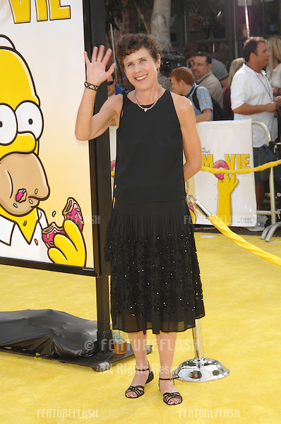 Julie Kavner - voice of Marge Simpson - at the world premiere of The Simpsons Movie..July 25, 2007  Los Angeles, CA.Picture: Paul Smith / Featureflash