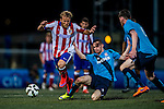 Stoke City vs Atletico de Madrid during day two of the HKFC Citibank Soccer Sevens 2015 on May 30, 2015 at the Hong Kong Football Club in Hong Kong, China. Photo by Xaume Olleros / Power Sport Images