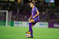 Orlando, FL - Saturday September 02, 2017: Steph Catley during a regular season National Women's Soccer League (NWSL) match between the Orlando Pride and the Boston Breakers at Orlando City Stadium.