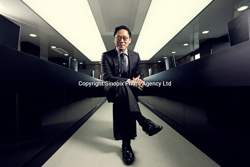 Ted Chung, CEO of Hyundai Card and Capitol<br /> <br /> Photo portfolio of Kim  / Sinopix