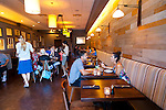Artisan Restaurant in Paso Robles, CA. The dining room of Artisan