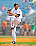13 March 2009: Baltimore Orioles' pitcher Hayden Penn on the mound during a Spring Training game against the St. Louis Cardinals at Fort Lauderdale Stadium in Fort Lauderdale, Florida. The Cardinals defeated the Orioles 6-5 in the Grapefruit League matchup. Mandatory Photo Credit: Ed Wolfstein Photo