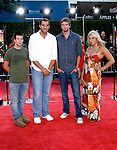 "Cast of ""American Teen"" arrives at the Los Angeles Premiere Of ""Tropic Thunder"" at the Mann's Village Theater on August 11, 2008 in Los Angeles, California."