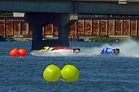 Tracy Hawkins, #13, Wesley Cheatham, #4 and David Johnigan, (#91)   (Sport F1)