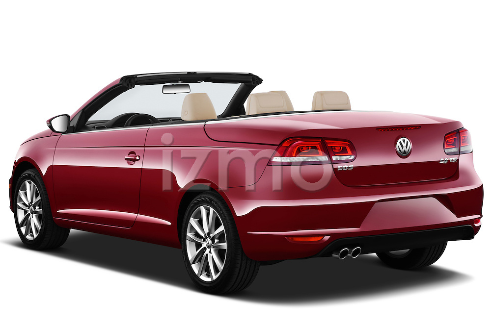Rear three quarter view of a 2012 Volkswagen EOS Komfort
