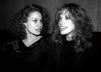 Karen Black Carly Simon 1982<br /> Photo By Adam Scull/PHOTOlink.net