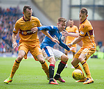 Barrie McKay with Joe Chalmers and Craig Clay