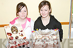 CAKE SALE: Photographed at the Tarbert Youth Club Cake Sale on Sunday