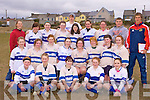 Tralee ladies team that played in the under 17 ladies rugby blitz in Castleisland on Saturday front row l-r: Becky O'Sullivan, Kich Townsend, Siobhain Gannon, Seabh Keating, Laura Dempsey. Middle row: Nicola McCarthy, Rachel Downes, Sinead O'Connor, Mairead Reidy, Katie O'Connor, Sarah Walsh, Katie O'Sullivan, Finula Kirby. Back row: marie Townsend, Lorna Sheehan, Yvonne McCarthy, Clodagh Quane, Aisling Kelly, Dan O'Connor, Ciara Browne, Caoimhe Marley, Seam Hurley and Andy Brace.