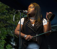 Shemekia Copeland performs at the 2013 Blues and BBQ Festival in New Orleans, LA.