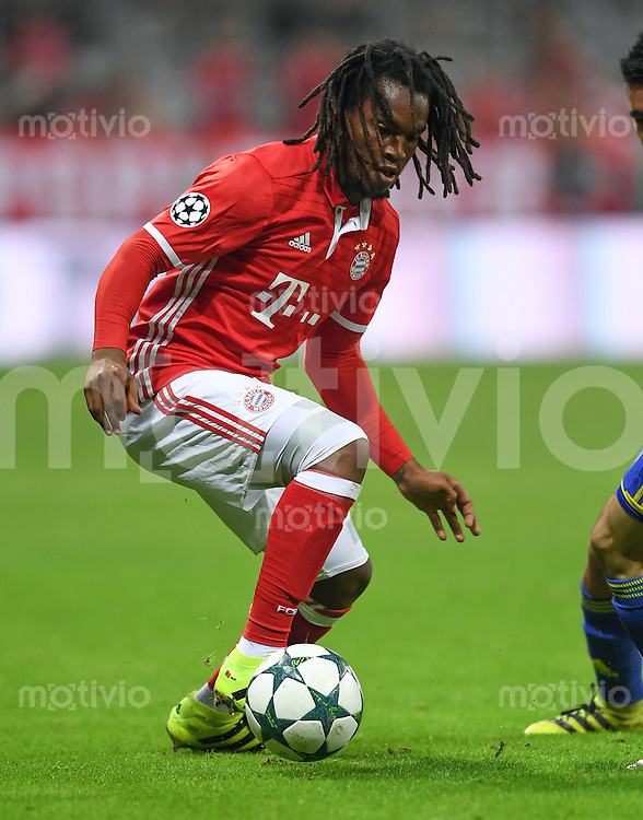 FUSSBALL CHAMPIONS LEAGUE SAISON 2016/2017 GRUPPENPHASE FC Bayern Muenchen  - FK Rostow              13.09.2016 Renato Sanches (FC Bayern Muenchen)