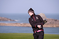 Mark Healy (UCC) during the final of the Irish Students Amateur Open Championship, Tralee Golf Club, Tralee, Co Kerry, Ireland. 12/04/2018.<br /> Picture: Golffile | Fran Caffrey<br /> <br /> <br /> All photo usage must carry mandatory copyright credit (&copy; Golffile | Fran Caffrey)