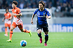 Gamba Osaka Midfielder Jin Izumisawa in action during the AFC Champions League 2017 Group H match Between Jeju United FC (KOR) vs Gamba Osaka (JPN) at the Jeju World Cup Stadium on 09 May 2017 in Jeju, South Korea. Photo by Marcio Rodrigo Machado / Power Sport Images