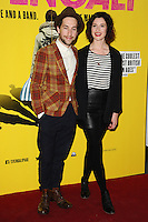"Dylan Edward and Natasha O'Keefe arrives for the ""SVENGALI"" premiere at the Rich Mix Cinema, Shoreditch,  London. 11/03/2014 Picture by: Steve Vas / Featureflash"