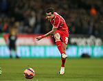 Philippe Coutinho of Liverpool takes  shot on goal - FA Cup Fourth Round replay - Bolton Wanderers vs Liverpool - Macron Stadium  - Bolton - England - 4th February 2015 - Picture Simon Bellis/Sportimage