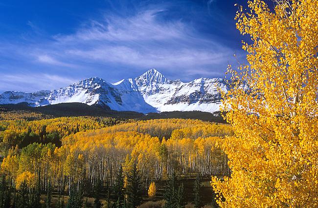Fall, Wilson Peak, Telluride, Colorado