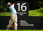 SHENZHEN, CHINA - OCTOBER 30:  Fernando Mhark of Philippines in action during the day two of Asian Amateur Championship at the Mission Hills Golf Club on October 30, 2009 in Shenzhen, Guangdong, China.  (Photo by Victor Fraile/The Power of Sport Images) *** Local Caption *** Fernando Mhark