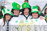 Noreen O'Connor, Noreen O'Mahony, Annette Donoghue and Catherine Broderick enjoying the craic at the Castleisland St Patricks Day parade on Monday   Copyright Kerry's Eye 2008
