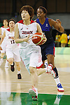 Maki Takada (JPN),  AUGUST 13, 2016 - Basketball : <br /> Women's Preliminary Round <br /> between Japan 79-71 France <br /> at Youth Arena <br /> during the Rio 2016 Olympic Games in Rio de Janeiro, Brazil. <br /> (Photo by Yusuke Nakanishi/AFLO SPORT)