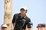Rory McIlroy (NIR)  in action during the first round of the Omega Dubai Desert Classic 2011 on the Majlis Course, Emirates Golf Club, Dubai, UAE. 10/02/2011.Picture Fran Caffrey/www.golffile.ie.