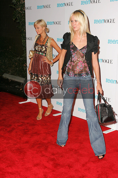 Paris Hilton and Kimberly Stewart<br /> At the release party for the Teen Vogue Young Hollywood Issue, The Hollywood Roosevelt Hotel, Hollywood, CA 09-20-05<br /> David Edwards/DailyCeleb.Com 818-249-4998