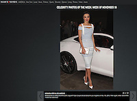 PLAYA VISTA, CA - NOVEMBER 19: Miranda Kerr at the 2015 Jaguar F-TYPE Coupe Global Debut held at Raleigh Studios on November 19, 2013 in Playa Vista, California. (Photo by Xavier Collin/Celebrity Monitor)
