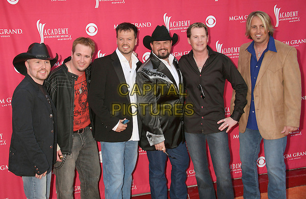 HEARTLAND .42nd Annual Academy Of Country Music Awards held at the MGM Grand Garden Arena, Las Vegas, Nevada, USA..May 15th, 2007.full length 3/4 jeans denim black brown jacket hart stetson.CAP/ADM/BP.©Byron Purvis/AdMedia/Capital Pictures