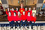 Scoil Mhuire gan Smal Lixnaw NS Girls, Miss Katie Costello's 5th and 6th classes who were confirmed in St. Michael's Church, Lixnaw by the Bishop of Kerry Ray Browne on Tuesday