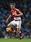 Adam Forshaw of Middlesbrough during the Premier League match at the Etihad Stadium, Manchester. Picture date: November 5th, 2016. Pic Simon Bellis/Sportimage