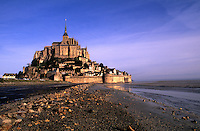 Le Mont St. Michel Island Fortress in Normandy France
