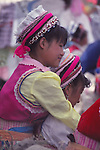 China, a Bai woman in Dali, Yunnan Province